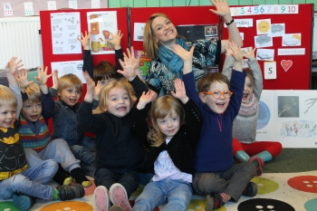 Bamford Pre-school celebrates British Science Week